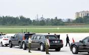 Những hình ảnh mật vụ Mỹ bảo vệ Tổng thống Donald Trump tại sân bay Đà Nẵng