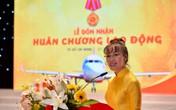 """Tàu bay """"Tôi yêu Tổ quốc tôi"""" đón U23 Việt Nam"""