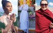Trước khi Nguyễn Thị Hà xuống tóc, đã có hoa hậu, người đẹp tìm đến cửa Phật