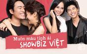 Lạ đời chuyện công khai tình yêu trong showbiz Việt: Người thì bị tẩy chay, kẻ nói cũng chẳng ai tin
