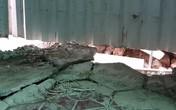 Hải Phòng: Phụ huynh lo lắng vì trường mầm non bị sạt lở nền do công trình kế bên xây dựng không phép