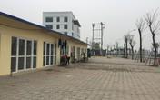Hà Nội: Ghi nhận về khu công trình tạm phục vụ dự án trong khu đô thị Thanh Hà