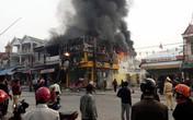 Nghệ An: Cửa hàng kinh doanh điện tử bị lửa thiêu rụi