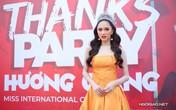 Hương Giang sexy trong tiệc mừng đăng quang Hoa hậu