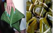 Hermes gây sốc khi cho ra đời chiếc túi xách nhìn như chiếc bánh nếp gói bằng lá chuối vẫn ăn hằng ngày