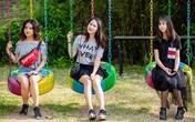 Ba con gái lớn ở tuổi dậy thì của Anh Tú 'Dưa Hấu'