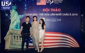 Hà Hồ, Thu Phương chiếm trọn sự chú ý tại sự kiện của US International