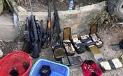 """Trùm ma tuý Nguyễn Thanh Tuân tàng trữ nhiều súng """"khủng"""" và quyết """"ăn thua"""" tới cùng"""