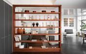 Sử dụng vách ngăn bằng đồ nội thất hoặc đồ trang trí đang là xu hướng được nhiều người ưa chuộng nhất