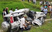 Nghệ An: Tàu hỏa tông xe 7 chỗ trên đường về quê ăn rằm, 4 người thương vong