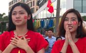 Thanh Tú bật khóc, Mỹ Linh và các thí sinh Hoa hậu Việt Nam 2018 vỡ oà trước cú ghi bàn tuyệt đẹp của Minh Vương