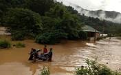 Nghệ An: Lũ từ thượng nguồn kết hợp mưa lớn gây ngập lụt ở các huyện miền núi