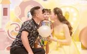 Á hậu Ngô Trà My làm sinh nhật 2 tuổi cho con gái ở khách sạn 5 sao