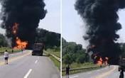 """Xe bồn chở dầu tông xế hộp rồi bốc cháy dữ dội: Quyết định """"đóng cầu"""", cấm đường dài ngày"""