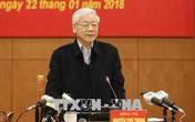 Tổng Bí thư Nguyễn Phú Trọng: Kiên quyết loại khỏi bộ máy những cán bộ hư hỏng, tham nhũng