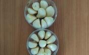 Cách trồng củ tỏi tại nhà không cần đất hay chậu, cực nhanh lại nhàn, ăn mãi chẳng hết
