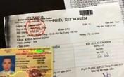 Nghệ An: Phát hiện 2 tài xế dương tính với chất ma túy