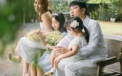 Hồ Hoài Anh, Lưu Hương Giang khoe 2 con gái