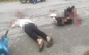 Yên Bái: Tông trúng chó chạy qua đường, hai vợ chồng đi xe máy thương vong
