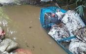 Bắt giữ khẩn cấp 2 nghi phạm đổ trộm dầu thải ra nguồn nước Sông Đà