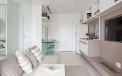 """""""Tuyệt chiêu"""" giúp căn hộ 35 m2 sang trọng như rộng gấp đôi"""