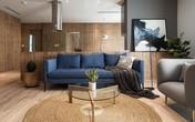 Căn hộ view Hồ Tây hiện đại, sang trọng sau cải tạo với nội thất gỗ tần bì