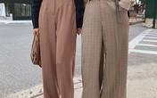 """Diện với áo gì cũng """"auto"""" đẹp lại hô biến chân thon dài, quần ống suông chính là item bạn nên tích cực diện"""