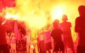 Công an TP. Hà Nội kiên quyết chống đua xe, đốt pháo sáng tại trận Việt Nam gặp Malaysia