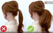 Muốn buộc tóc đuôi ngựa đẹp tựa gái Hàn thì bạn đừng bỏ qua thủ thuật giúp tóc phồng như tạo kiểu ngoài tiệm