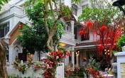 Biệt thự nhà Ông Cao Thắng đỏ rực và lộng lẫy theo phong cách người Hoa trong ngày ăn hỏi
