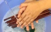 Những cách rửa đũa ăn sai lầm