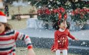 Trẻ em thích mê ngôi làng giáng sinh Bắc âu tại Ecopark