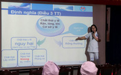 Bệnh viện Hùng Vương thực hiện hoạt động chống rác thải nhựa