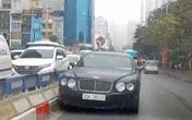 Tài xế lái xe Bentley đi ngược chiều ở Hà Nội sẽ bị xử phạt như thế nào?