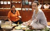 Trịnh Kim Chi, Angela Phương Trinh gói bánh chưng, bánh tét đón Tết