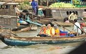 Tour du lịch tham quan chợ nổi Cái Răng hút khách nước ngoài