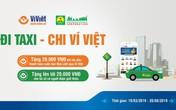 Ví Việt tặng thưởng khách hàng khi thanh toán cước Taxi Mai Linh qua mã QR