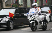 Dàn xe mô tô dẫn đoàn Hội nghị thượng đỉnh Mỹ - Triều mạnh cỡ nào