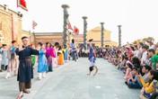 Con rồng cháu tiên vui mùa lễ hội tại công viên văn hóa chủ đề ấn tượng Hội An