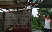 Hà Tĩnh: Mưa lớn kèm theo lốc xoáy, hàng chục ngôi nhà bị tốc mái