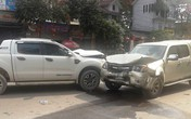 Nghi án sát hại vợ, đốt nhà, đâm xe vào tình địch ở Nghệ An