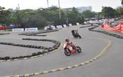 Ảnh giải đua xe mô tô lần đầu tiên diễn ra tại Hà Nội đang được gấp rút chuẩn bị