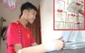 Chuyện ít biết về nam sinh Hải Dương đỗ thủ khoa lớp 10 bị gãy tay trước ngày thi