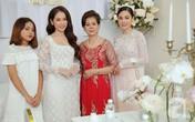 Đám cưới Dương Khắc Linh - Sara Lưu: Cô dâu xuất hiện cùng chị gái và bố mẹ ruột