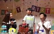 Cường Đô La và Hồ Ngọc Hà bên nhau tổ chức sinh nhật cho bé Subeo