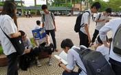 Thi tuyển sinh vào lớp 10 ở Hải Phòng: Nhiều phụ huynh xin nghỉ làm để đưa con đi thi