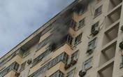 Hà Nội: Cháy ở chung cư Nam Trung Yên, người dân hốt hoảng chạy xuống đường