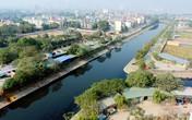 """Mục sở thị cảnh """"trả lại tên cho em"""" ở sông Tô Lịch khi thôi bơm nước từ Hồ Tây"""