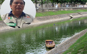 """Chủ tịch đơn vị thí điểm sông Tô Lịch: """"Chỉ nhận được thông báo trước khi xả nước 15 phút"""""""