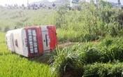 Nghệ An: Xe buýt lao xuống ruộng, 1 người tử vong